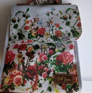 Elliot Lucca Canvas Travel Lunch Tote Floral bag